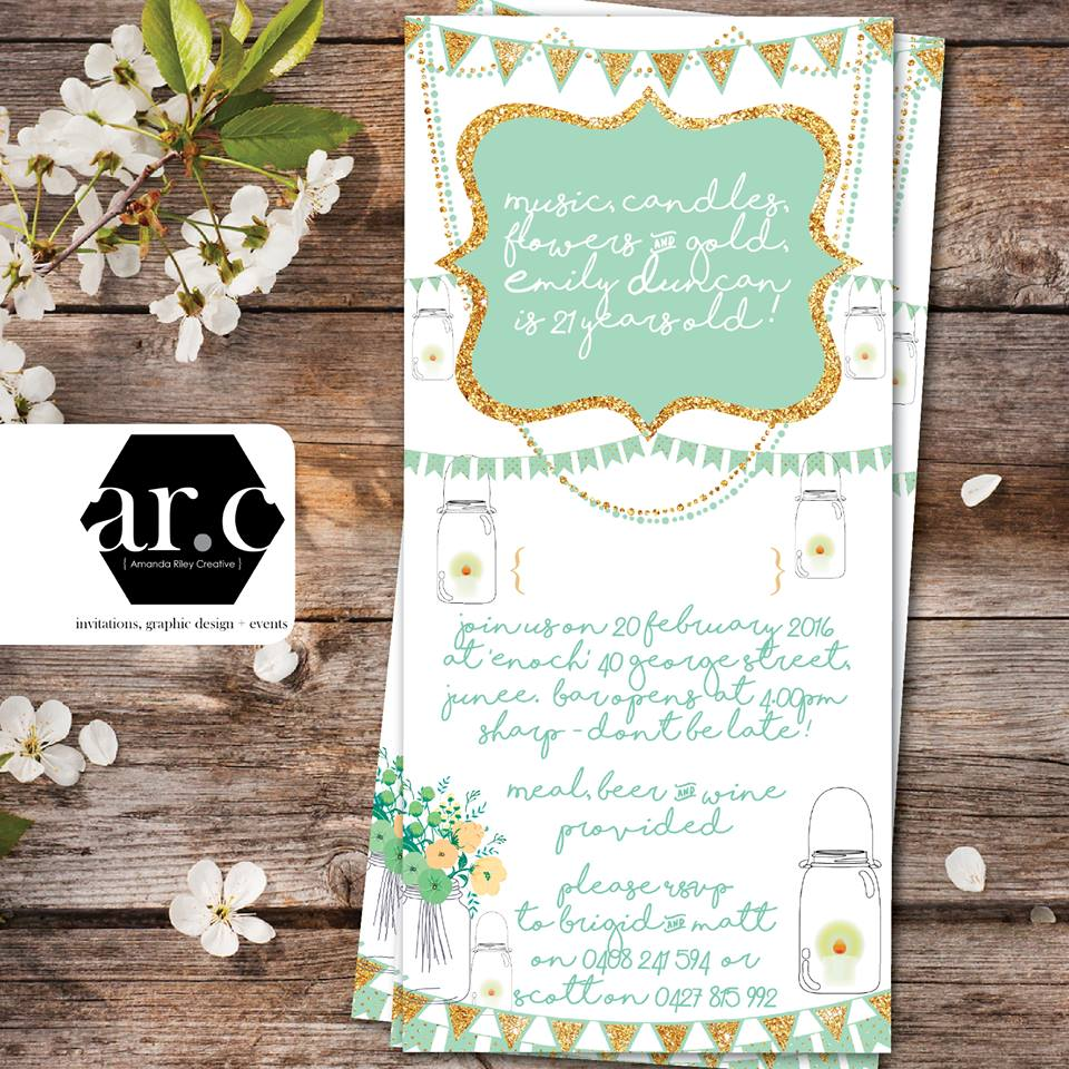 Welcome to amanda riley creative invitations graphic design birthday invitations stopboris Choice Image